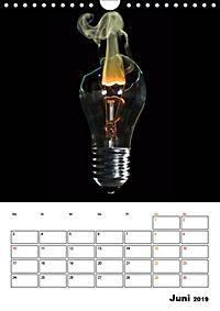 Feuer und Rauch Verbrennen (Wandkalender 2019 DIN A4 hoch) - Produktdetailbild 6