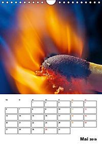 Feuer und Rauch Verbrennen (Wandkalender 2019 DIN A4 hoch) - Produktdetailbild 5