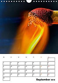 Feuer und Rauch Verbrennen (Wandkalender 2019 DIN A4 hoch) - Produktdetailbild 9