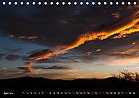 Feuerhimmel - Firmament in Flammen (Tischkalender 2019 DIN A5 quer) - Produktdetailbild 4