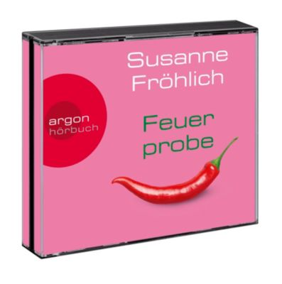 Feuerprobe, 4 Audio-CDs, Susanne Fröhlich