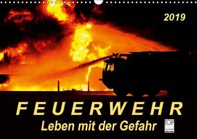 Feuerwehr - Leben mit der Gefahr (Wandkalender 2019 DIN A3 quer), Peter Roder