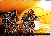 Feuerwehr - Leben mit der Gefahr (Wandkalender 2019 DIN A3 quer) - Produktdetailbild 6