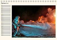 Feuerwehr - selbstlose Arbeit weltweit (Tischkalender 2019 DIN A5 quer) - Produktdetailbild 2
