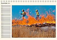 Feuerwehr - selbstlose Arbeit weltweit (Tischkalender 2019 DIN A5 quer) - Produktdetailbild 11