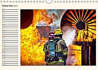 Feuerwehr - selbstlose Arbeit weltweit (Wandkalender 2019 DIN A4 quer) - Produktdetailbild 9