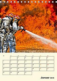 Feuerwehr - selbstloser Dienst weltweit (Tischkalender 2019 DIN A5 hoch) - Produktdetailbild 1