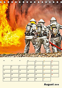 Feuerwehr - selbstloser Dienst weltweit (Tischkalender 2019 DIN A5 hoch) - Produktdetailbild 8
