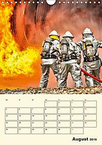 Feuerwehr - selbstloser Dienst weltweit (Wandkalender 2019 DIN A4 hoch) - Produktdetailbild 8