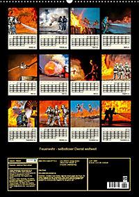 Feuerwehr - selbstloser Dienst weltweit (Wandkalender 2019 DIN A2 hoch) - Produktdetailbild 13