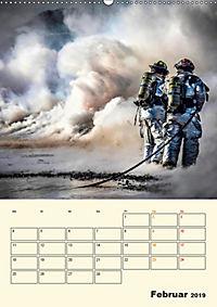 Feuerwehr - selbstloser Dienst weltweit (Wandkalender 2019 DIN A2 hoch) - Produktdetailbild 2