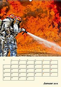 Feuerwehr - selbstloser Dienst weltweit (Wandkalender 2019 DIN A2 hoch) - Produktdetailbild 1