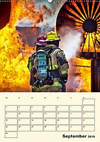 Feuerwehr - selbstloser Dienst weltweit (Wandkalender 2019 DIN A2 hoch) - Produktdetailbild 9