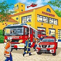 Feuerwehreinsatz. Puzzle (3 x 49 Teile) - Produktdetailbild 1