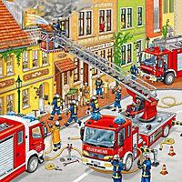 Feuerwehreinsatz. Puzzle (3 x 49 Teile) - Produktdetailbild 3