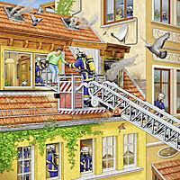 Feuerwehreinsatz. Puzzle (3 x 49 Teile) - Produktdetailbild 4