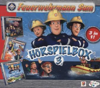 Feuerwehrmann Sam, 3 Audio-CDs, Feuerwehrmann Sam