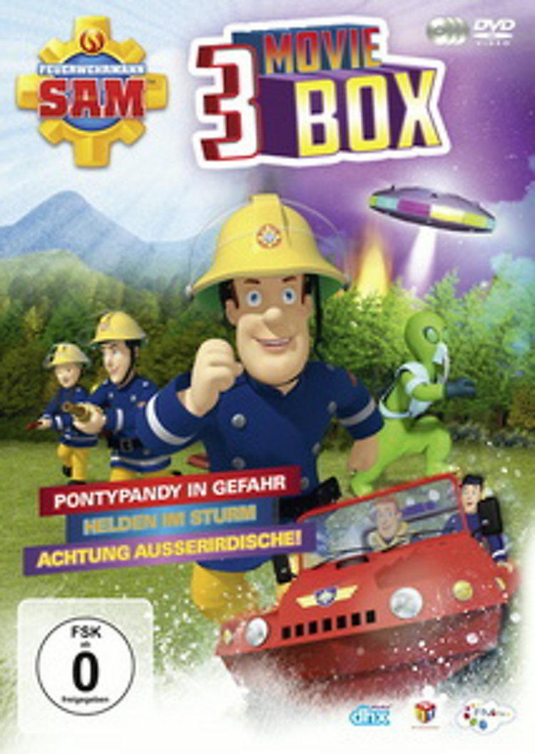 feuerwehrmann sam  3 movie box dvd bei weltbildde bestellen
