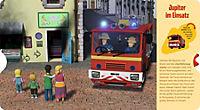 Feuerwehrmann Sam: Mein Fahrzeuge-Buch mit Drehscheibe - Produktdetailbild 1