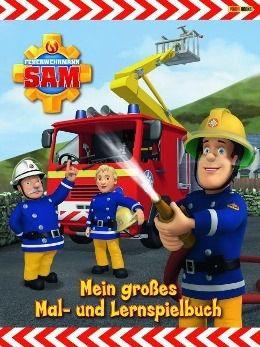 Feuerwehrmann Sam - Mein großes Mal- und Lernspielbuch -  pdf epub