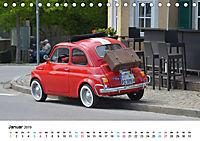 Fiat Cinquecento im Fokus (Tischkalender 2019 DIN A5 quer) - Produktdetailbild 1