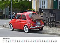 Fiat Cinquecento im Fokus (Wandkalender 2019 DIN A3 quer) - Produktdetailbild 1