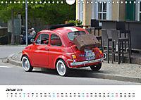 Fiat Cinquecento im Fokus (Wandkalender 2019 DIN A4 quer) - Produktdetailbild 1