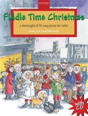Fiddle Time Christmas, 1-2 violins, w. Audio-CD