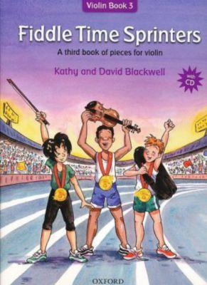 Fiddle Time Sprinters, w. Audio-CD, Kathy Blackwell, David Blackwell