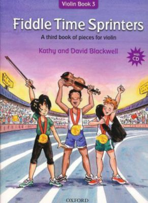 Fiddle Time Sprinters, w. Audio-CD, Kathy Blackwell, David Blackwell