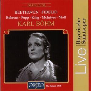 Fidelio-Oper In Zwei Akten (Ga), Behrens, King, Moll, Böhm, Bsom