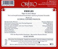 Fidelio-Oper In Zwei Akten (Ga) - Produktdetailbild 1