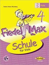 Fiedel-Max für Viola - Schule, m. Audio-CD, Andrea Holzer-Rhomberg