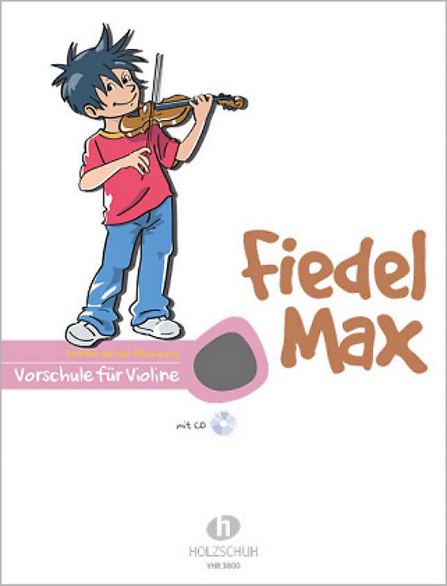 Fiedel-Max für Violine - Vorschule, m. Audio-CD Buch portofrei