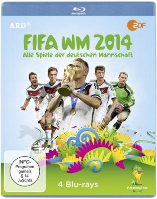 FIFA WM 2014 - Alle Spiele der deutschen Mannschaft, Fifa WM 2014