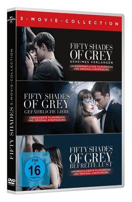 Fifty Shades Of Grey 1 3 Box Dvd Bei Weltbildde Bestellen