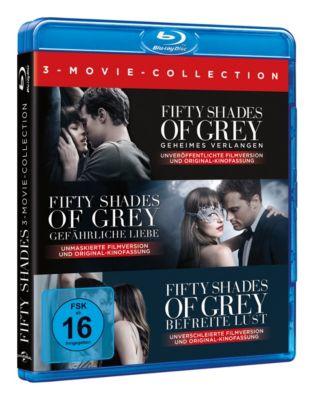 Fifty Shades of Grey 1-3 Box, Jamie Dornan,Kim Basinger Dakota Johnson