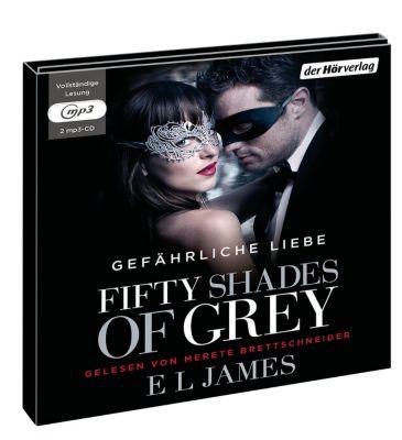 Fifty Shades of Grey - Gefährliche Liebe, 2 MP3-CDs, E. L. James
