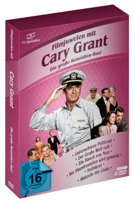 Filmjuwelen mit Cary Grant Box, Cary Grant
