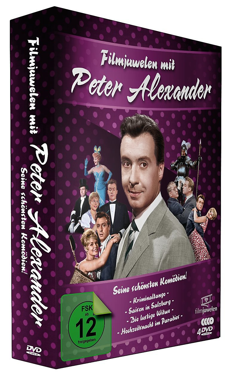 filmjuwelen mit peter alexander dvd bei bestellen. Black Bedroom Furniture Sets. Home Design Ideas