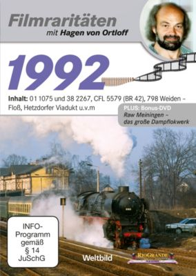 Filmraritäten mit Hagen von Ortloff - DVD: 1992 / 01 1075