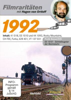 Filmraritäten mit Hagen von Ortloff - DVD: 1992 / 03 1010, 44 1093