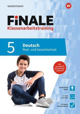 FiNALE Klassenarbeitstraining für die Real- und Gesamtschule - Deutsch 5. Klasse - Sonja von der Heyde |