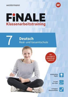 FiNALE Klassenarbeitstraining für die Real- und Gesamtschule - Deutsch 7. Klasse - Gabi Merz |