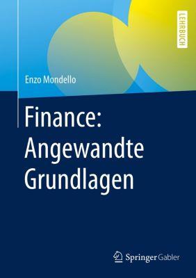 Finance: Angewandte Grundlagen, Enzo Mondello