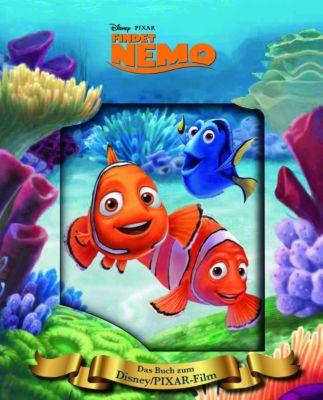 Findet Nemo, Das Buch zum Film mit magischem 3D-Cover