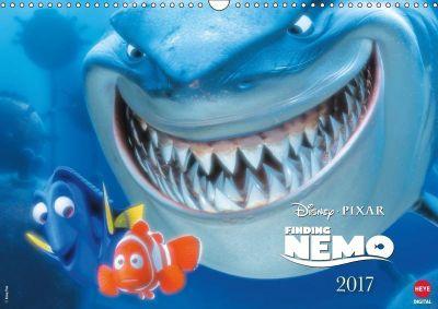 Findet Nemo (Wandkalender 2017 DIN A3 quer), Walt Disney