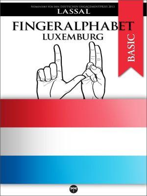 Fingeralphabet BASIC: Fingeralphabet Luxemburg, Lassal