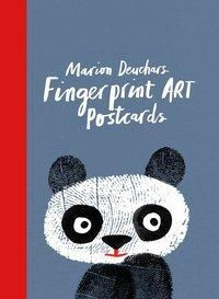 Fingerprint Art Postcards, Marion Deuchars