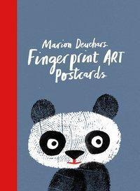 Fingerprint Art Postcards, Marion Deuchars